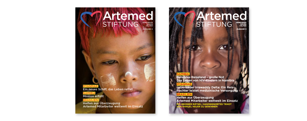 Artemed Stiftung Magazin