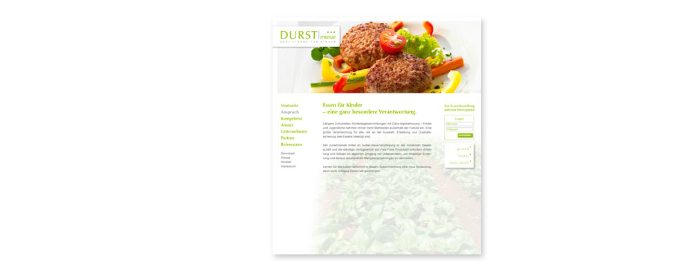Webdesign Catering