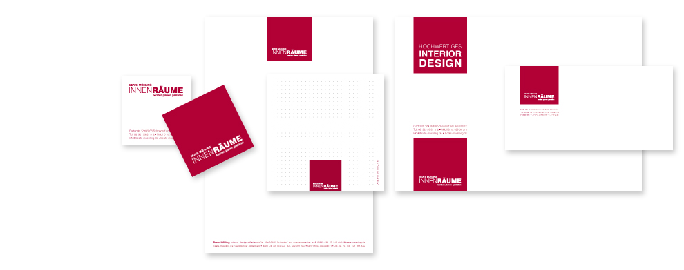 Innenarchitekt Corporate Design