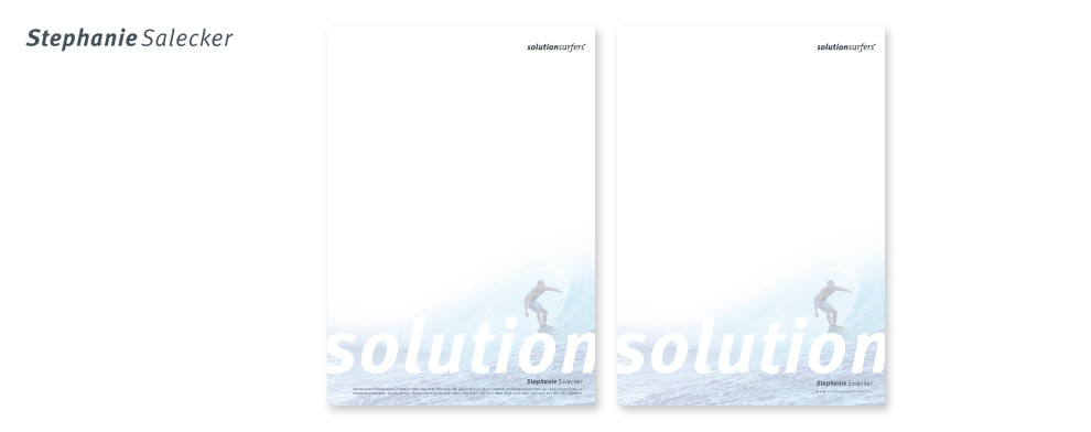 Solutionsurfers Corporate Design