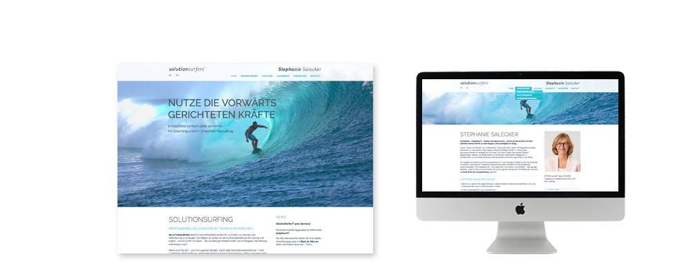 Solutionsurfers Coaching Webdesign